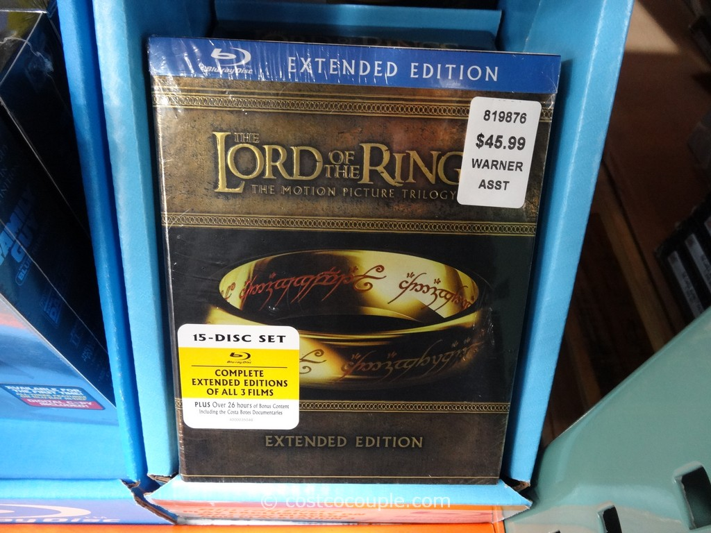 Lord of the Rings Extended Edition Costco 2
