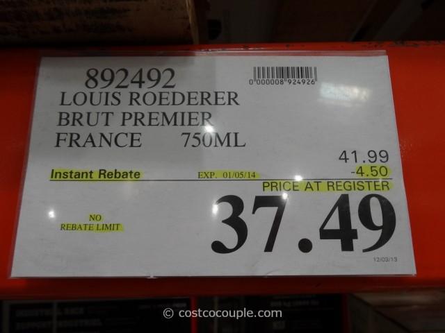 Louis Roederer Brut Premier Champagne Costco 1