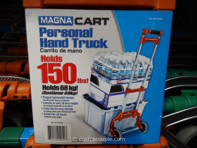 Magna Cart Foldable Hand Truck Costco 1