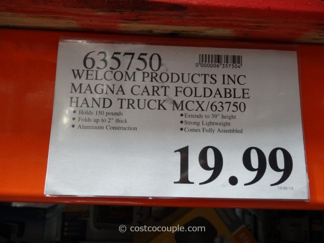 Magna Cart Foldable Hand Truck Costco 4