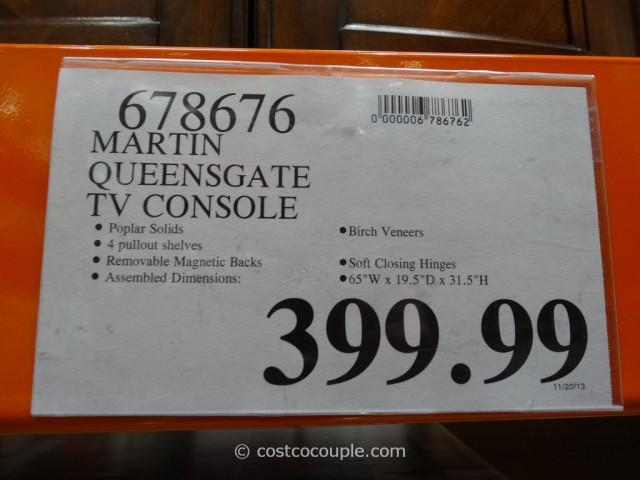 Martin Queensgate TV Console Costco 1