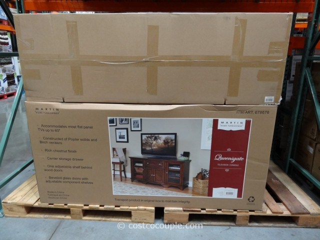 Martin Queensgate TV Console Costco 2
