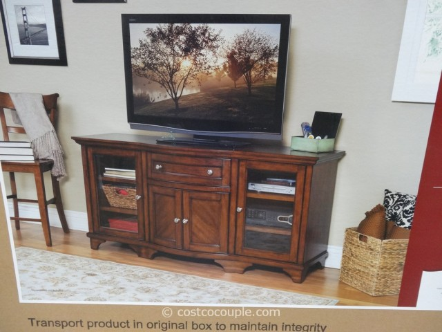 Green Entertainment Center Costco: Martin Queensgate TV Console