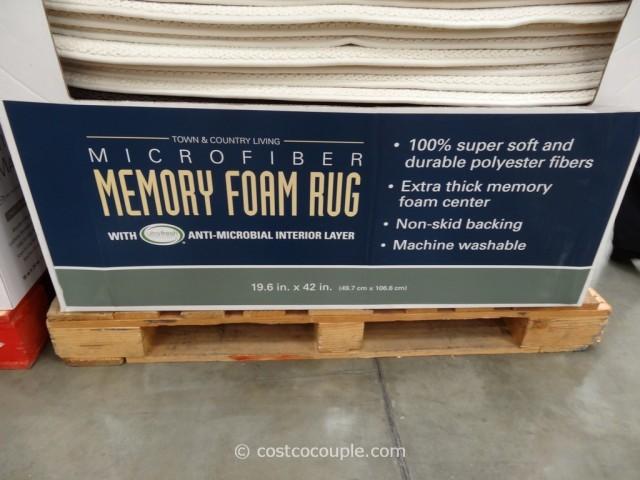 Microfiber Memory Foam Rug Costco 2