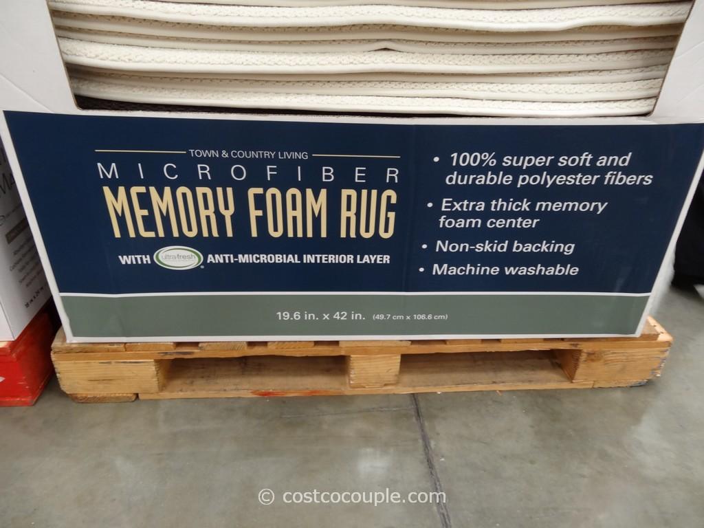 Microfiber Memory Foam Rug