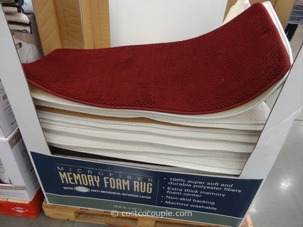 Microfiber Memory Foam Rug Costco 3