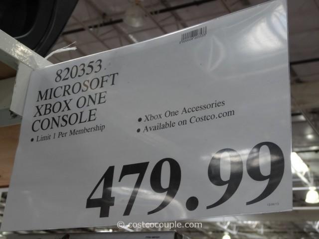 Microsoft XBox One Console Costco 2