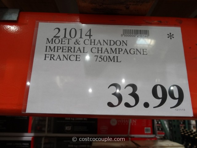 Moet and Chandon Imperial Champagne Costco 1