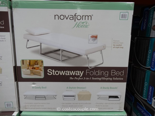 Novaform Stowaway Folding Bed Costco 4