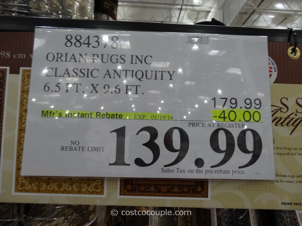orian classic antiquity rug costco - Costco Area Rugs