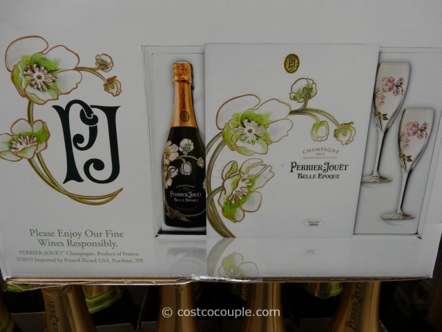 Perrier-Jouet Belle Epoque Champagne Gift Set Costco 2