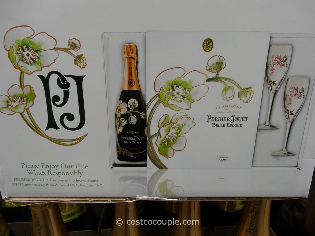 Perrier Jouet De Fleur Champagne Gift Set Costco 2