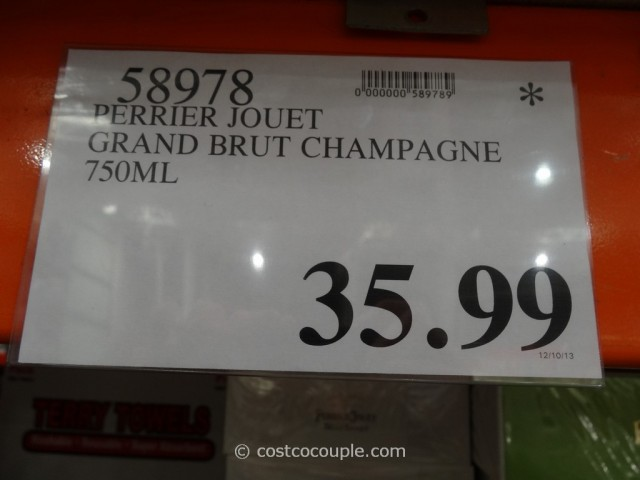 Perrier Jouet Grand Brut Champagne Costco 1
