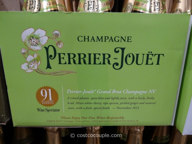 Perrier Jouet Grand Brut Champagne Costco 2