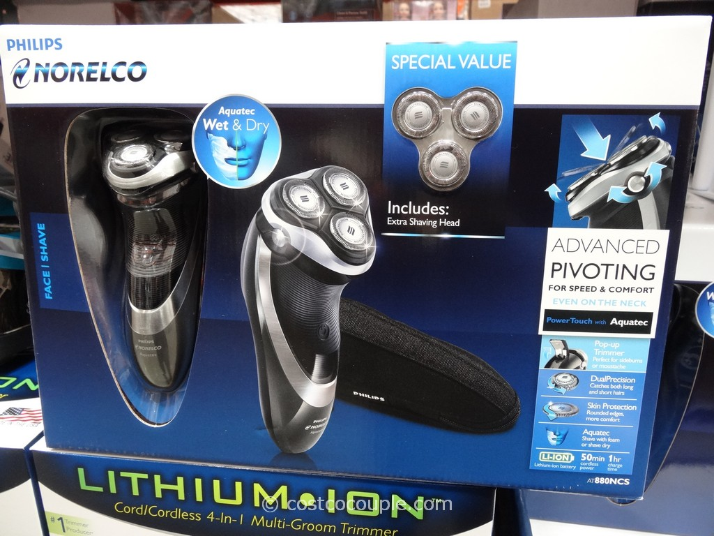 Philips Norelco Powertouch Shaver With Aquatec