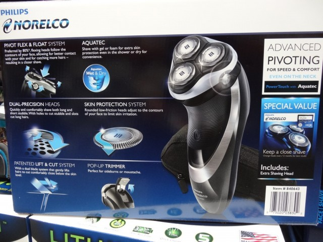 Philips Norelco PowerTouch Costco 4