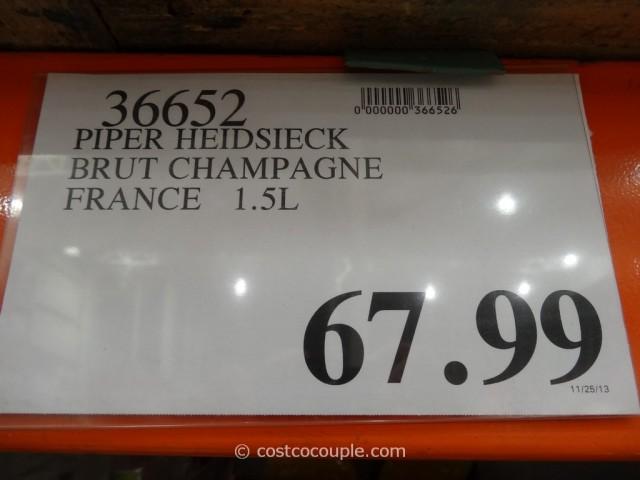 Piper Heidsieck Brut Champagne 1.5L Costco 1