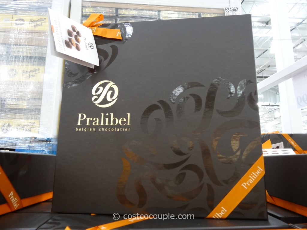 Pralibel Belgian Dark Chocolate Assortment Costco 2