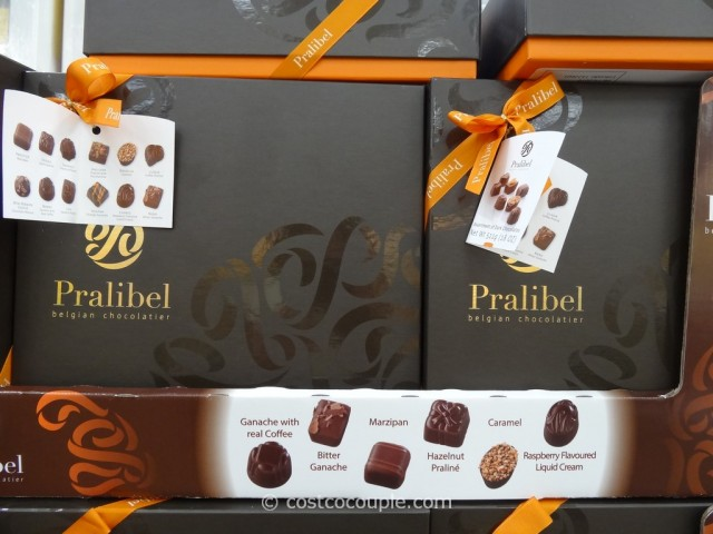 Pralibel Belgian Dark Chocolate Assortment Costco 4