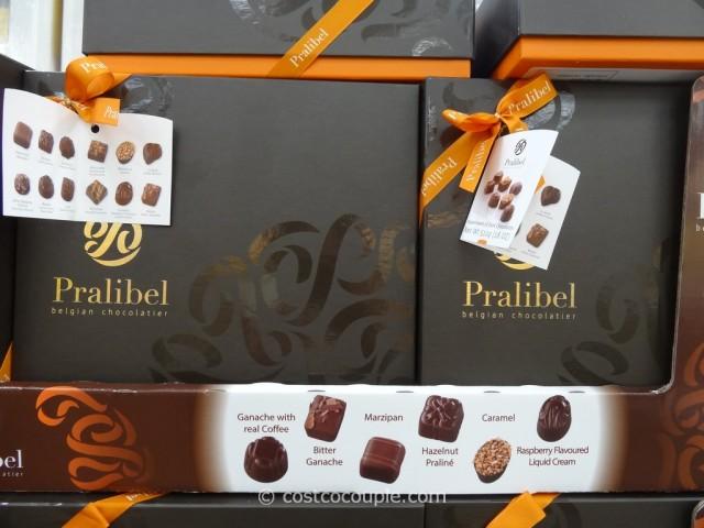 Pralibel Belgian Dark Chocolate Assortment Costco 4