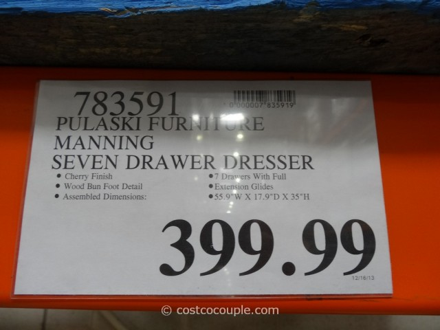 Pulaski Furniture Manning Dresser Costco 4