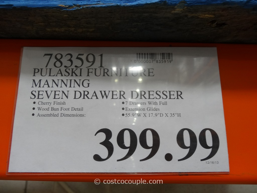 Pulaski Furniture Manning Dresser Costco 4