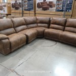Pulaski Springfield Power Reclining Sectional Costco 7