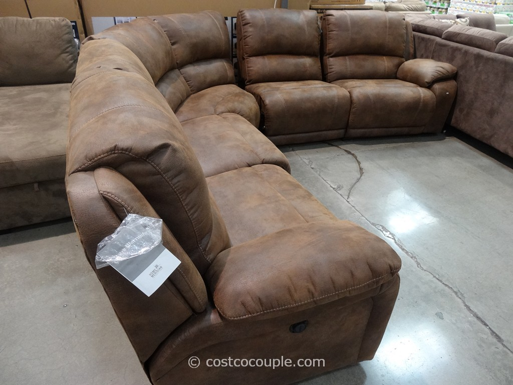 Pulaski Springfield Power Reclining Sectional Costco 8 ... : costco electric recliner - islam-shia.org