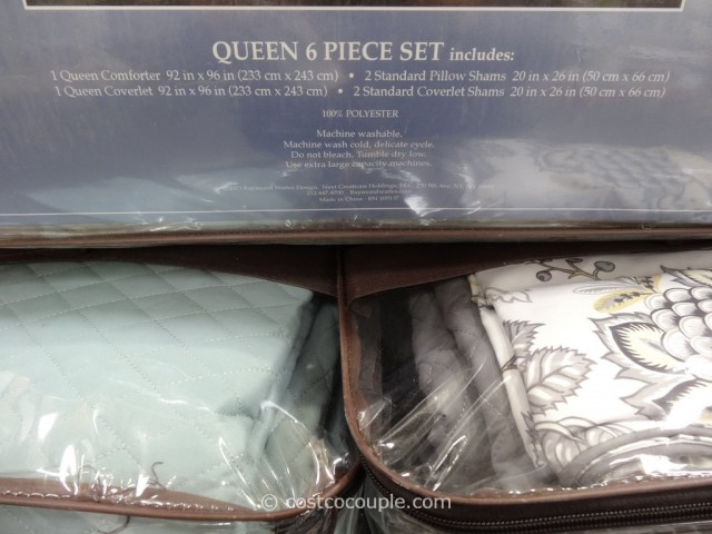 Raymond Waites Queen Comforter Set Costco 3