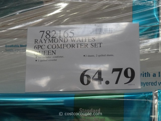 Raymond Waites Queen Comforter Set Costco 4