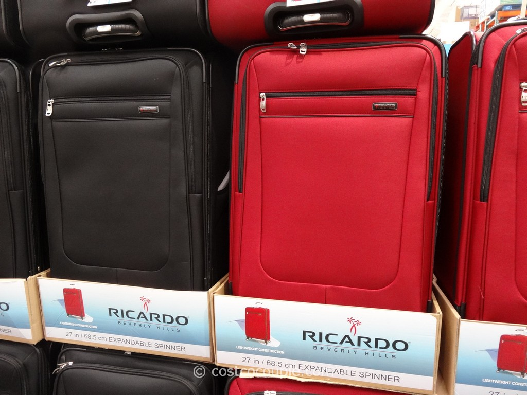 Ricardo 27-Inch Softside Spinner Costco 2