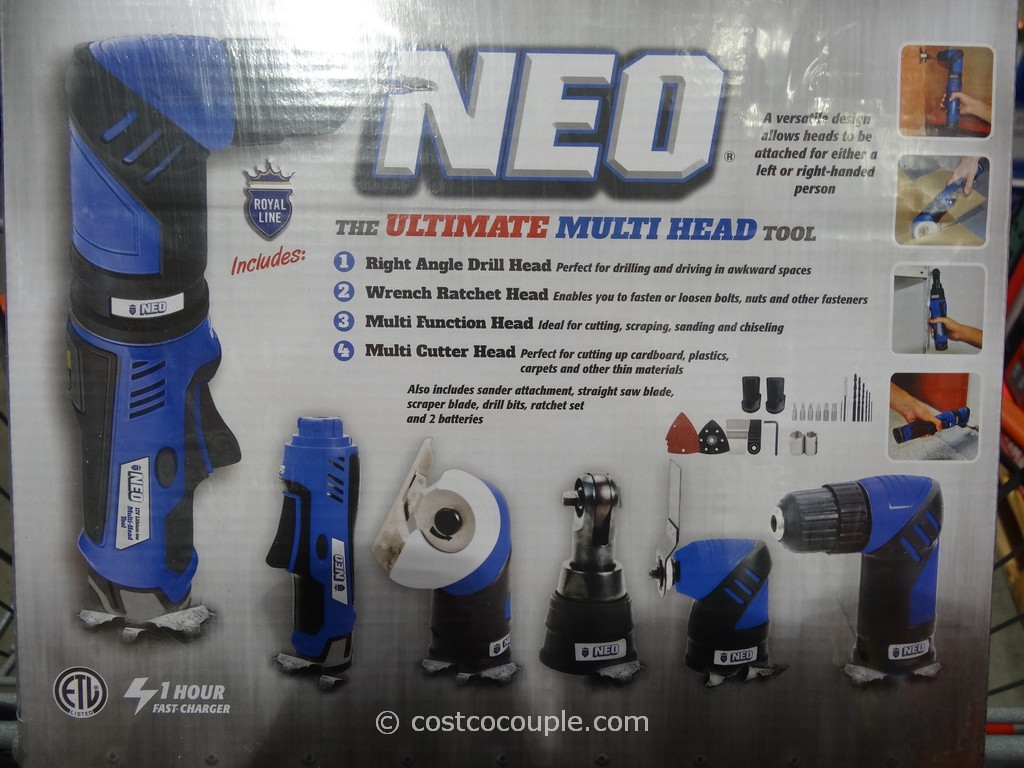 Royal Line Neo 12V Li-Ion Multi-Tool Kit Costco 2