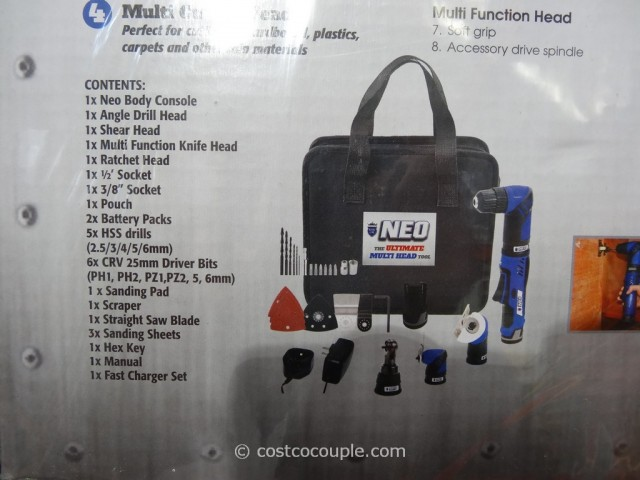 Royal Line Neo 12v Li Ion Multi Tool Kit