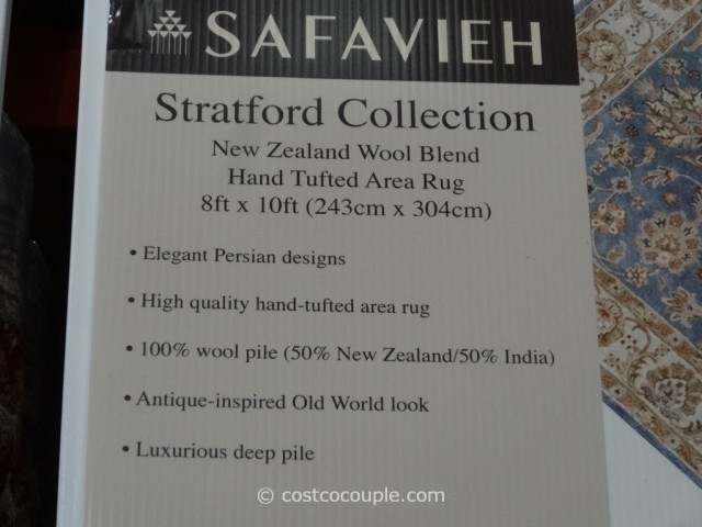 Safavieh Stratford Collection Wool Area Rug Costco 3