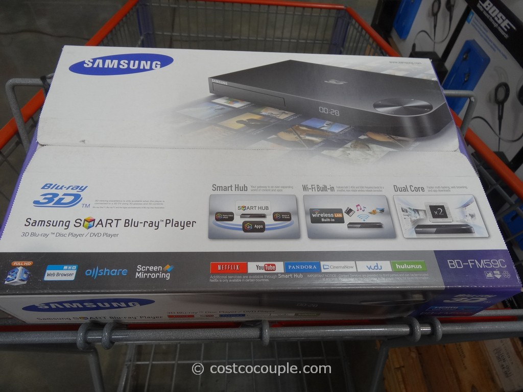 Samsung 3D Blu-Ray Player With Wifi BD-FM59C Costco 2