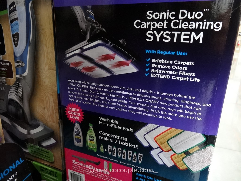 Shark Professional Sonic Duo Floor and Carpet Cleaner Costco 5
