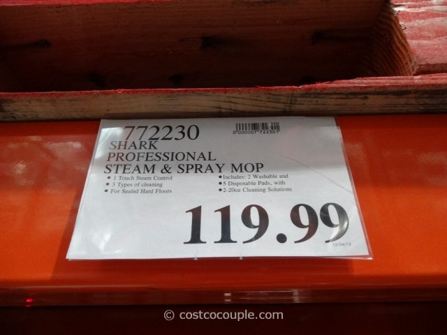 Shark Professional Steam and Spray Mop Costco 1