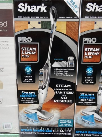 Shark Professional Steam and Spray Mop Costco 3