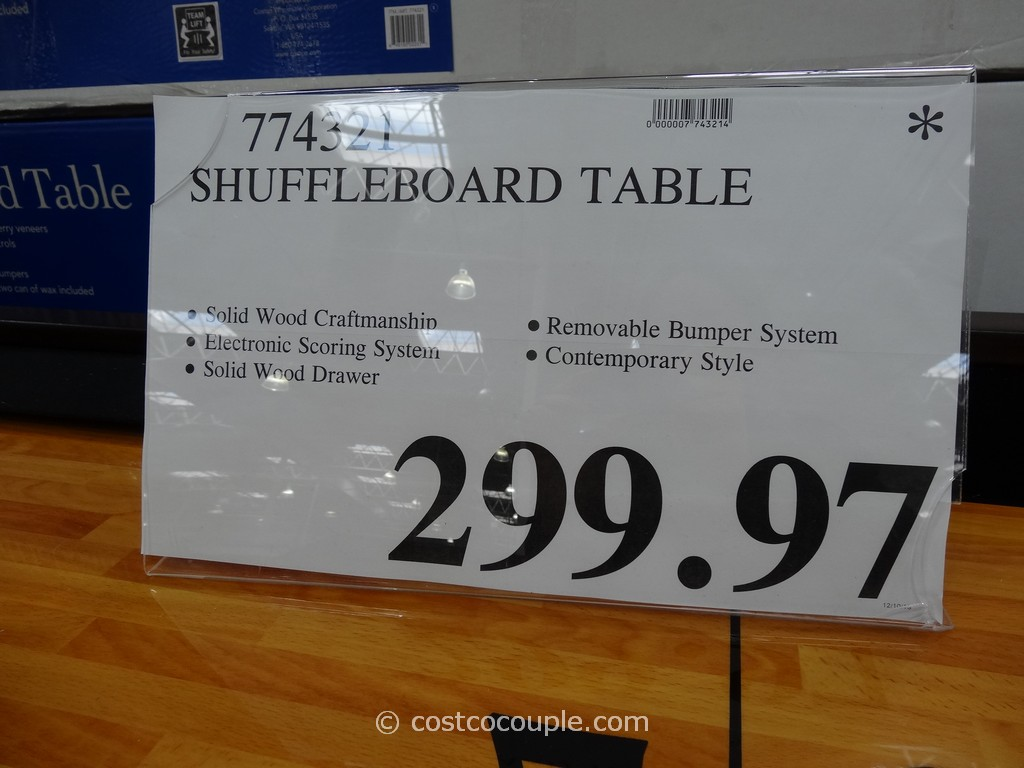 ... Shuffleboard Table Costco 1