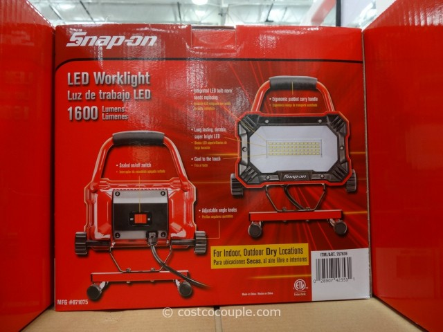 Snap-On LED Worklight Costco 4