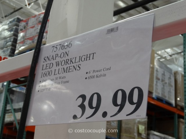 Snap-On LED Worklight Costco 5