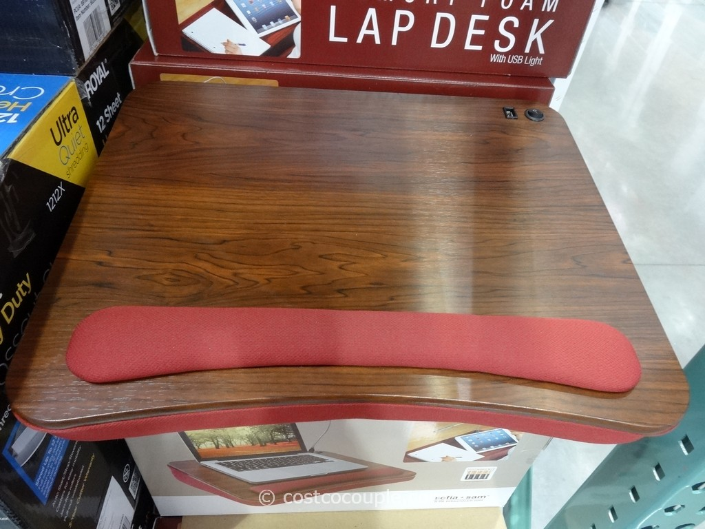 Sofia And Sam Memory Foam Lap Desk Costco 2