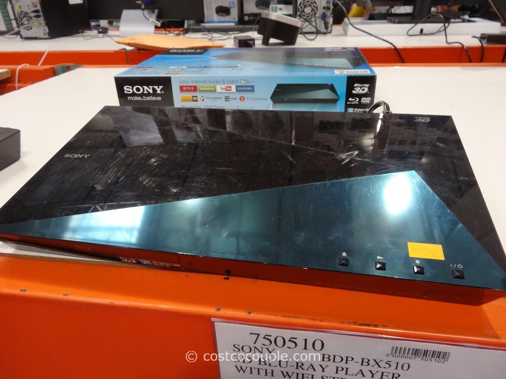 Sony 3D Blu-Ray Player WIth Wifi Costco 2