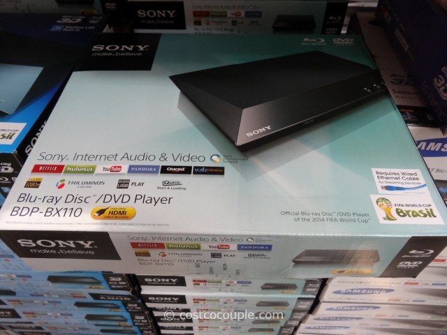 Sony Blu-Ray Player BDP-BX110 Costco 2
