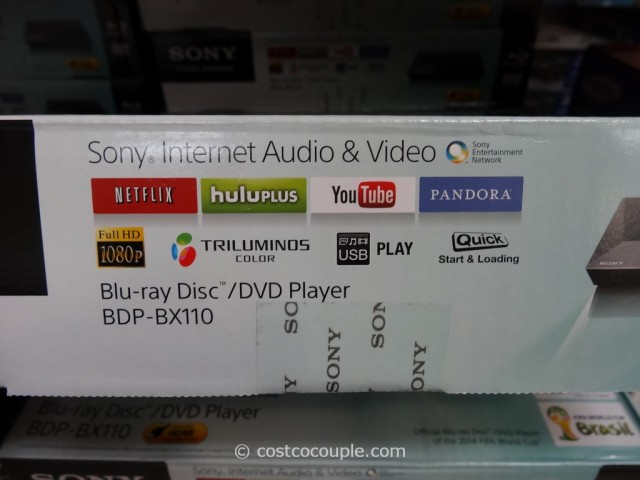 Sony Blu-Ray Player BDP-BX110 Costco 3