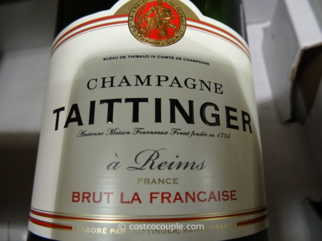 Taittinger Brut La Francaise Champagne Costco 1