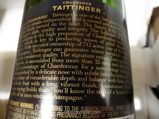 Taittinger Brut La Francaise Champagne Costco 2