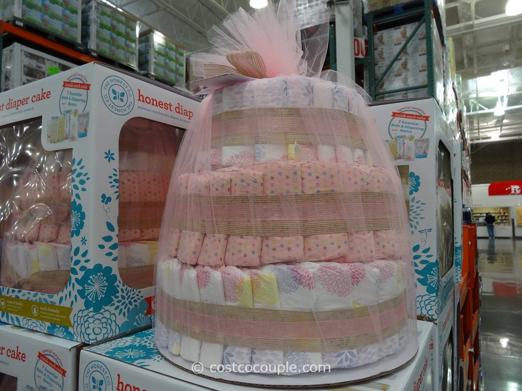 ... has made it into Costco. It's The Honest Company Diaper Cake