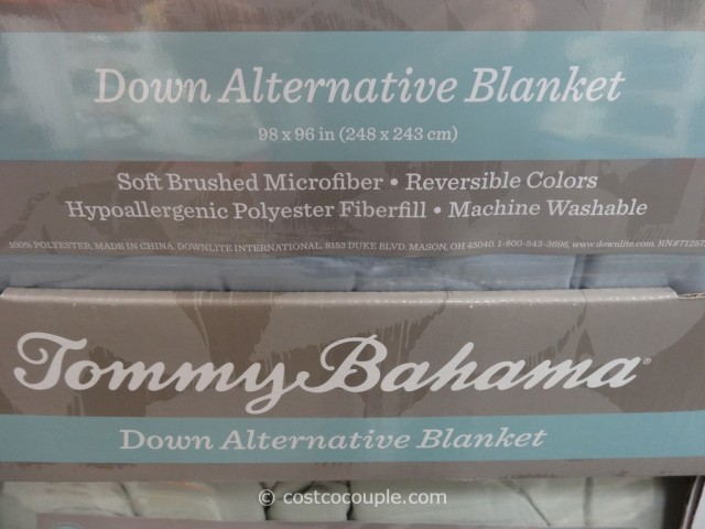 Tommy Bahama Down Alternative King Queen Blanket Costco 2