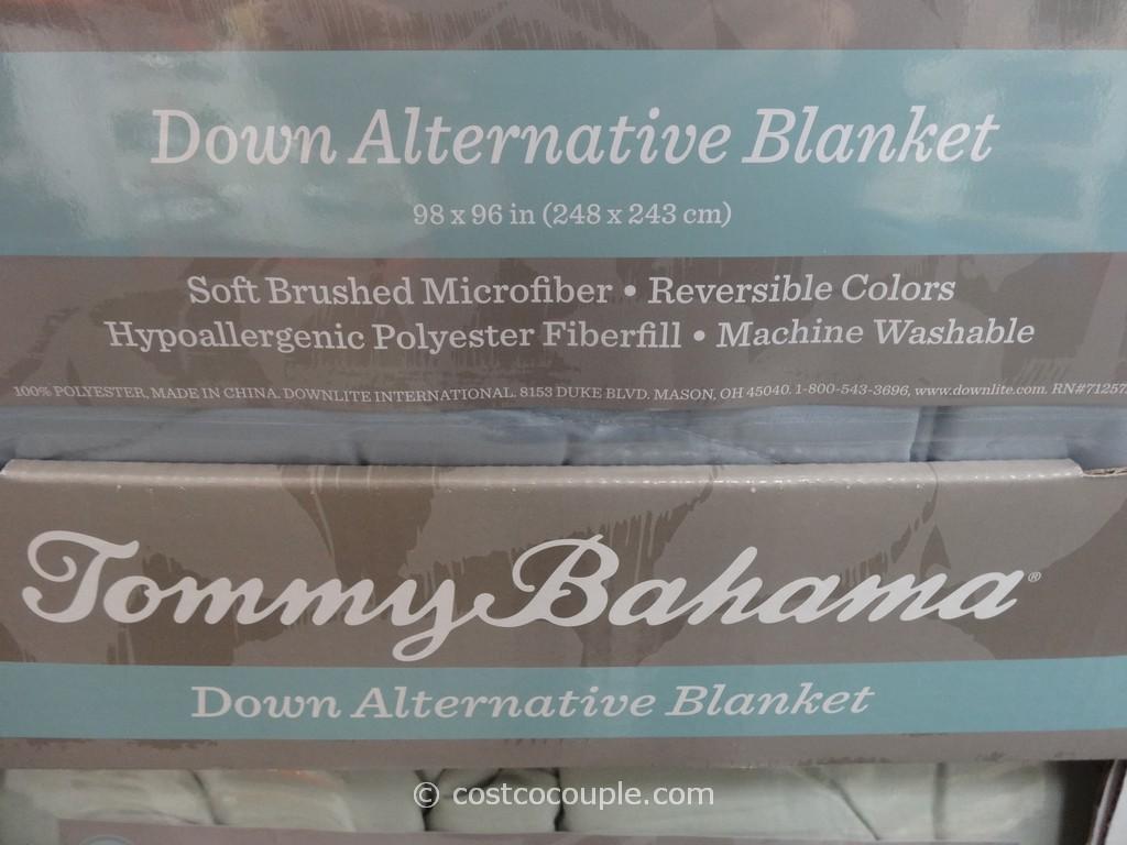 Tommy Bahama Down Alternative King Queen Blanket